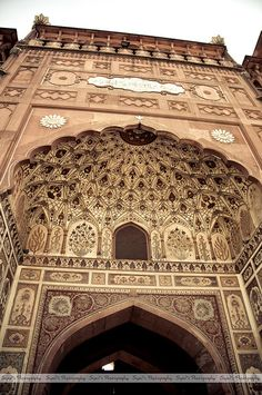 Entry Gate of Badshahi Masjid (بادشاہی مسجد) by Syed Sibt-e-Hassan, via Flickr