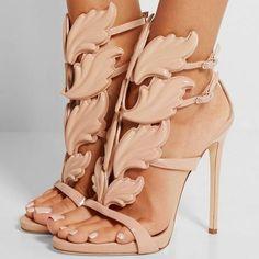 Women's Flaming Heels