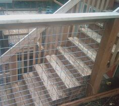 Stock Panels Stock Wire Railing Usually used for stock confinement, galvanized or stainless welded wire panels are an excellent material for deck railings. Stock men use galvanized heavy duty welded wire panels to confine livestock. They are strong, rust resistant and available in various mesh sizes and shapes. The mesh is excellent for deck railings. It provides the same visibility as cable railing at a fraction of the cost. It is much easier to install than cable railing, and, therefore…