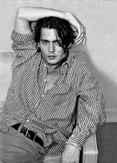 Johnny Depp is one sexy man