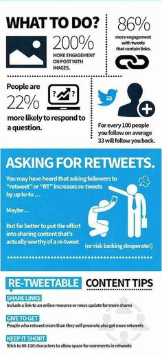 What to do in order to get more engagement on Twitter #infografia #infographic #socialmedia