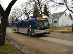 Edmonton ETS New Flyer bus