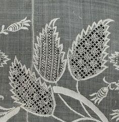 Risultati immagini per royal school of needlework Hardanger Embroidery, Embroidery Thread, Beaded Embroidery, Cross Stitch Embroidery, Types Of Embroidery, White Embroidery, Embroidery Designs, Blackwork, Art Du Fil