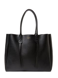 Large Calfskin Shopper Tote by Lanvin at Gilt