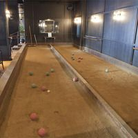 Bocce ball at Make Westing in Uptown. My new favorite pastime.