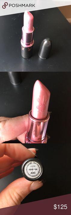 Mac cosmetics bunny pink playboy lipstick Mac cosmetics bunny pink playboy lipstick used a few times excellent condition MAC Cosmetics Makeup Lipstick