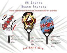beach tennis rackets