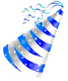 Birthday Hat Png Happy Parties Blue Party Clipart Images