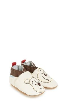 Robeez® 'Disney® Winnie the Pooh®' Slip-On Crib Shoe (Baby & Walker) available at #Nordstrom