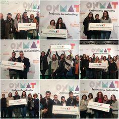 Lo pasamos en grande en la presentación de #ONMAT. ¡Gracias a todos por acompañarnos! #megustanlasmatesconONMAT