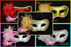 Wholesale Party Mask - Buy Plastic Party Masks Mardi Gras Masks Masquerade Party Masks Venetian Masks Carnival Masks 40pcs/lot, $1.44   DHgate