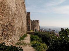 Acropolis Walls –Anna Paleologina Gate – Trigonion Tower or Alysseos Tower Byzantine Art, Early Christian, Acropolis, Thessaloniki, World Heritage Sites, Monument Valley, Gate, Anna, Tower