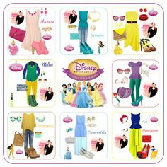 Curvy World: Disney Princess Outfits