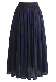 Scattered Pearls Gradient Mesh Tulle Skirt in Dusty Blue - Retro, Indie and Unique Fashion Chiffon Maxi, Pleated Midi Skirt, Dusty Blue, Navy Blue, Unique Fashion, Pink Und Gold, Mesh Skirt, Indie, Mint