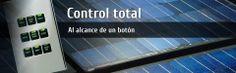 Controlar la energía es tan fácil como presionar un botón. Genera energia solar. www.zeroenergyon.com