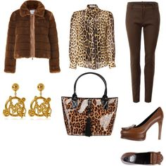 """Leopard Moschino"" by workingincloset on Polyvore #moschino #outfits #look #style #fashion #workingincloset http://workingincloset.blogspot.it/"