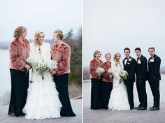 LES BOURGEOIS VINEYARDS WEDDING   COLUMBIA MISSOURI WEDDING PHOTOGRAPHY   ST. LOUIS WEDDING PHOTOGRAPHER   Winter Wedding ideas   Bride and Groom Portrait ideas   Midwest   Erin Stubblefield Weddings and Portraiture   Wedding Party