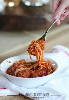Bernie's Spaghetti Sauce Recipe