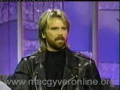 MacGyver on Arsenio Hall