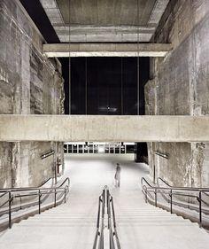 Garcés de Seta Bonet Arquitectes - Metro station, Barcelona 2011. Via, photos (C) Adrià Goula.