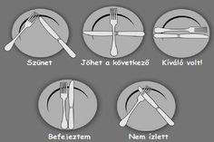 éttermi etikett Dining Etiquette, Kitchen Hacks, Good To Know, Healthy Life, Diy And Crafts, Life Hacks, Food Porn, Food And Drink, Yummy Food
