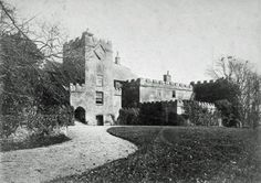 West range, Torre Abbey before 1875 Gate House, Devon, Archaeology, Palace, Old Things, Survival, Barn, Museum, Range