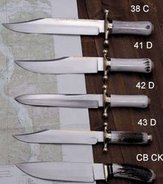 RUANA KNIVES - BONNER, MONTANA-see the UTube video featuring this knife making family business.