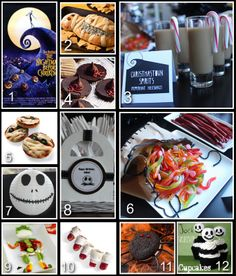 Disney Donna Kay: Disney Party Board - Nightmare Before Christmas Party