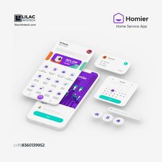 Homier offers a comprehensive selection of home services that simplify your everyday life. Book from a variety of facilities managed by highly experienced professionals. We aid in developing a unique mobile application that connects service providers and users through a user-friendly experience. To know more about Homier, ping us on: :telephone_receiver:+91 83601 39952. :e_mail:info@lilacinfotech.com Visit us @ www.lilacinfotech.com Mobile App Development Companies, Web Development Company, Seo Company, Mobile Application, Lilac, Web Design, Life Book, Telephone, Unique