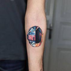 Daft Punk inspired tattoo.