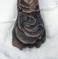 tattoos hand men tattoos forearm tattoos tattoos for men rose tattoos ...