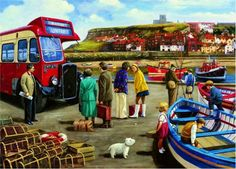Happy Days Whitby (108 pieces)Image copyright: Kevin Walsh