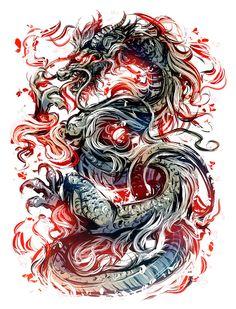 Dragon by Kawiku on DeviantArt