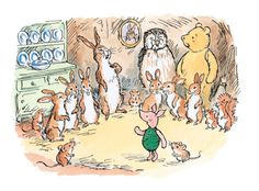 Pooh bear and friends! A childhood fav