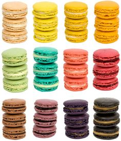 candy, color, food, french, macarons