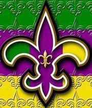 New Orleans Saints Mardi Gras French Royalty, New Orleans Saints Football, New Orleans Mardi Gras, Mardi Gras Decorations, Mardi Gras Beads, New Orleans Louisiana, Louisiana Art, Holiday Pictures, Mardi Gras Pictures