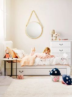 6 bedroom ideas for kids Kids Rooms, Kids Bedroom, Bedroom Decor, Toddler Bed, Children, Fun, Furniture, Beautiful, Home Decor