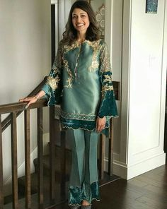 Girls Fashion Clothes, Girl Fashion, Fashion Outfits, Clothes For Women, Pakistani Dress Design, Pakistani Outfits, Trendy Dresses, Girls Dresses, Dress Paterns