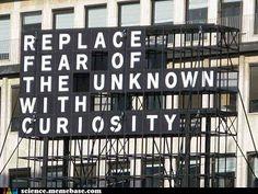 Fear vs Curiosity