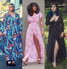 Foto: Reprodução / Lu Zieht An / Style Pantry / Journey to the Center of Fashion Style Pantry, Ideias Fashion, Wrap Dress, Journey, Dresses, Envelopes, Animal Prints, Corset Outfit, Maxi Dresses