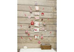 08---untrucparjour Origami, Twig Crafts, Christmas Crafts, Merry Christmas, Decoration, Creative, Clock, Homemade, Design
