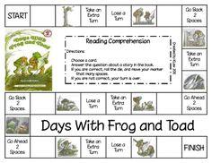 Frog and Toad  Days with...  reading comp  https://docs.google.com/file/d/0B4rcgk-kftkwYzZhNzE5NzMtODY4MS00NTQ4LWExMDQtMzIzYzQ5NDVlMzk3/edit?hl=en&authkey=CNCM_Y0N