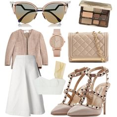 A beauty collage from May 2015 featuring palette eyeshadow, Fendi and aldo watches. Browse and shop related looks. Cushnie Et Ochs, Too Faced Cosmetics, Fendi, Valentino, Polyvore, Shopping, Image, Beauty