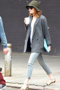 Emma Stone: street style