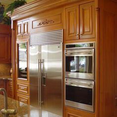 Built In Wall Ovens And Microwaes Design, Pictures, Remodel, Decor and Ideas