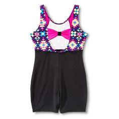 Girls' Gymnastics Printed Shortall- Circo®