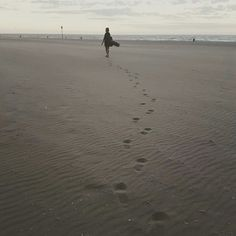 Footsteps // Scheveningen beach, the Hague - the Netherlands