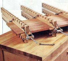 DIY Panel Clamps - Panel Glue Up Tips, Jigs and Techniques - Woodwork, Woodworking, Woodworking Plans, Woodworking Projects