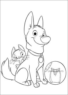 http://colorings.co/disney-bolt-coloring-pages/ | Colorings ...