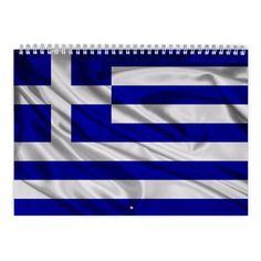 Greece 2017 Calendar